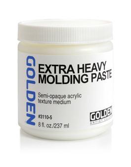 Golden Artist Colors Acrylic Paste: 8oz Extra Heavy Molding Paste