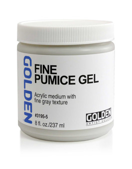 Golden Artist Colors Acrylic Gel: 8oz Fine Pumice Gel
