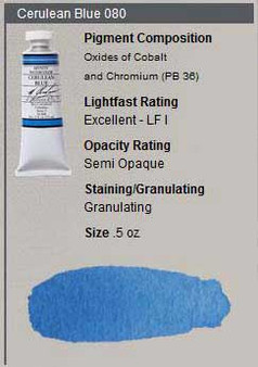 M. Graham Watercolor Series 3: 15ml Cerulean Blue