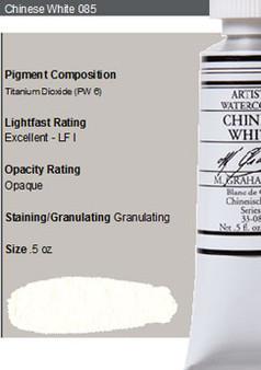 M. Graham Watercolor Series 1: 15ml Chinese White