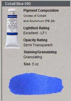 M. Graham Watercolor Series 4: 15ml Cobalt Blue