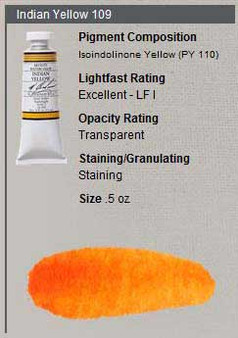 M. Graham Watercolor Series 3: 15ml Indian Yellow