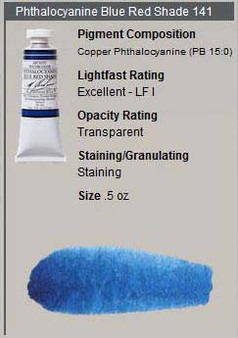M. Graham Watercolor Series 2: 15ml Phthalo Blue Red Shade