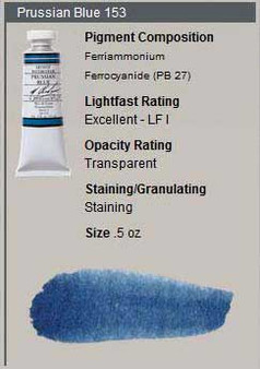 M. Graham Watercolor Series 2: 15ml Prussian Blue