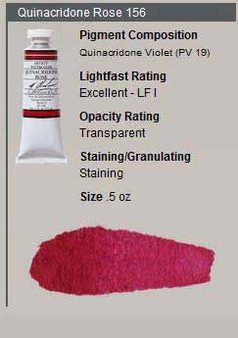 M. Graham Watercolor Series 3: 15ml Quinacridone Rose