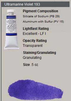 M. Graham Watercolor Series 3: 15ml Ultramarine Violet