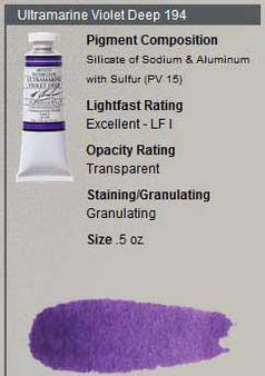 M. Graham Watercolor Series 3: 15ml Ultramarine Violet Deep