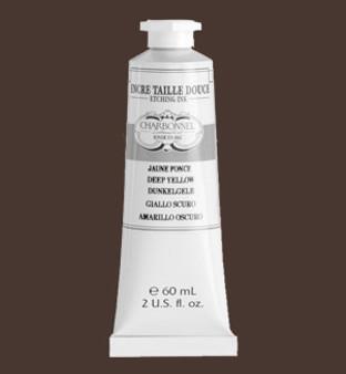 Charbonnel Intaglio (Etching) Ink 60ml Raw Sepia