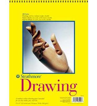 Strathmore Drawing Pad 300 9x12 50sh