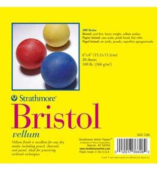 Strathmore Bristol Pad 300 Vellum 11x14