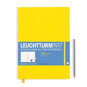 Leuchtturm 1917 Hardbound Sketchbook Master Lemon