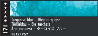 Caran d'Ache Museum Aquarelle Watercolor Pencil Turquoise Blue