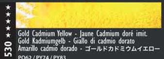 Caran d'Ache Museum Aquarelle Watercolor Pencil Gold Cadmium Yellow