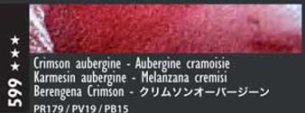 Caran d'Ache Museum Aquarelle Watercolor Pencil Crimson Aubergine