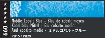 Caran d'Ache Museum Aquarelle Watercolor Pencil Medium Cobalt Blue
