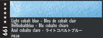 Caran d'Ache Museum Aquarelle Watercolor Pencil Light Cobalt Blue