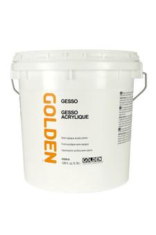 Golden Artist Colors Acrylic Gesso: Gallon Gesso