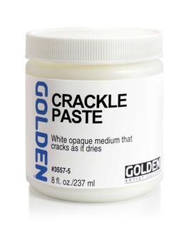 Golden Artist Colors Acrylic Paste: 8oz Crackle Paste