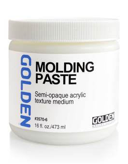Golden Artist Colors Acrylic Paste: 16oz Molding Paste