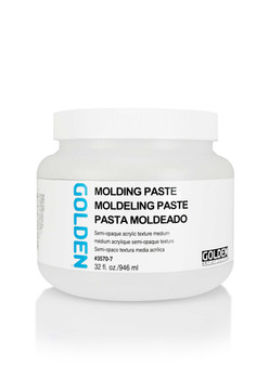 Golden Artist Colors Acrylic Paste: 32oz Molding Paste