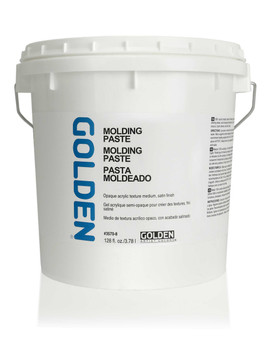 Golden Artist Colors Acrylic Paste: Gallon Molding Paste