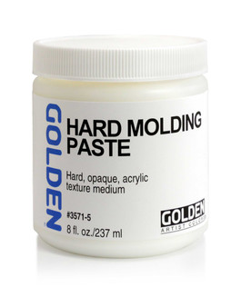 Golden Artist Colors Acrylic Paste: 8oz Hard Molding Paste
