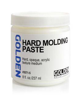 Golden Artist Colors Acrylic Paste: 8oz Hard Molding Paste