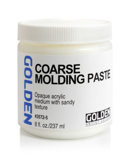 Golden Artists Colors 8oz Coarse Molding Paste