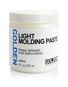 Golden Artist Colors Acrylic Paste: 8oz Light Molding Paste