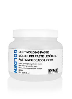 Golden Artist Colors Acrylic Paste: 32oz Light Molding Paste