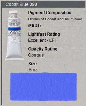 M. Graham Gouache Series 4: 15ml Cobalt Blue