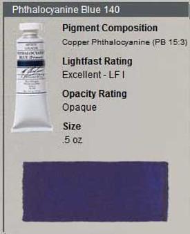 M. Graham Gouache Series 2: 15ml Pthalo Blue