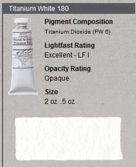 M. Graham Gouache Series 1: 15ml Titanium White