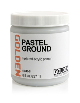 Golden Artist Colors Acrylic Ground: 8oz Ground for Pastels