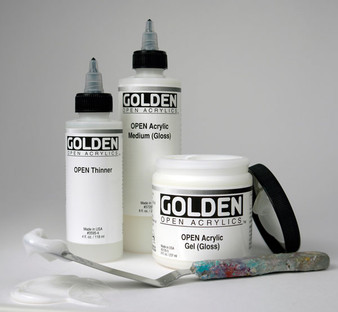 Golden Open Acrylic 8oz Medium Gloss
