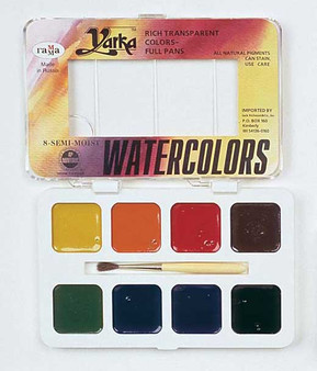 Yarka Watercolor Student Set of 8 Colors