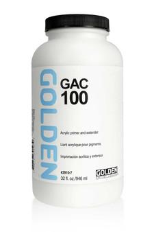 Golden Artist Colors Acrylic Medium: 32oz Gac-100 Acrylic