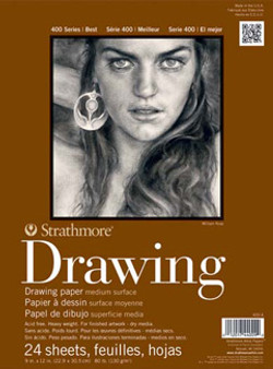 Strathmore Drawing Pad 400 14x17