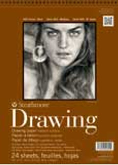 Strathmore Drawing Pad 400 18x24