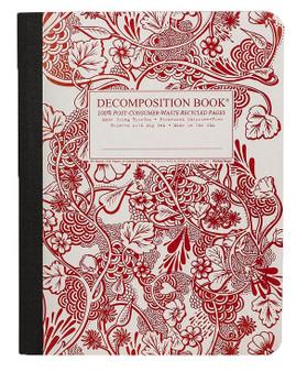 Michael Roger Press Decomposition Ruled Notebook Wild Garden