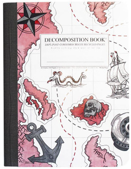 Michael Roger Press Decomposition Grid Notebook Treasure Coast