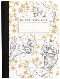 Michael Roger Press Decomposition Ruled Notebook Manatea