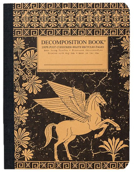 Michael Roger Press Decomposition Ruled Notebook Pegasus