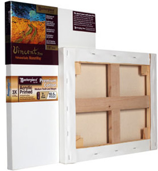 Masterpiece Vincent Pro Monterey Acrylic Primed Cotton Canvas 7oz 18x18