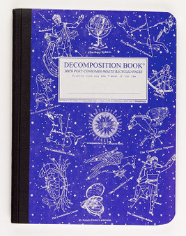 Michael Roger Press Decomposition Ruled Notebook Celestial