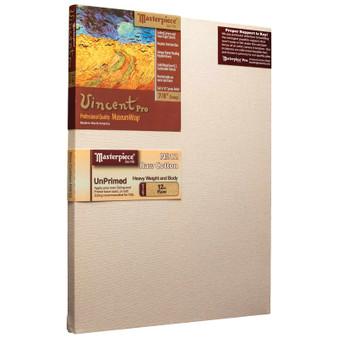 Masterpiece Vincent Pro Raw Cotton Canvas 12oz Unprimed 16x20