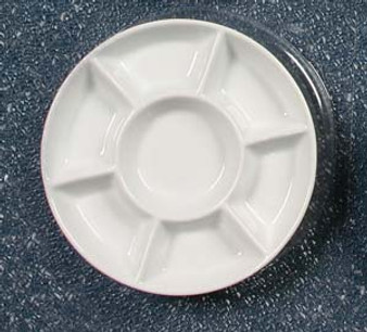 Jack Richeson Porcelain 7 Well Round W/Plastic Cover