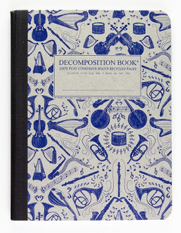 Michael Roger Press Decomposition Ruled Notebook Acoustic