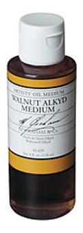 M. Graham Walnut Alkyd Medium 4oz