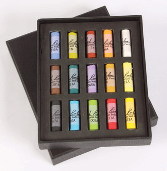 Jack Richeson Soft Pastel 1/2 Stick Set of 15